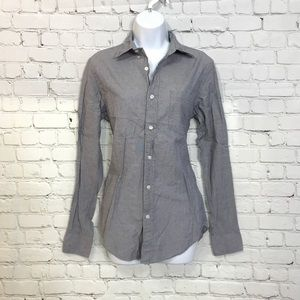 J Crew Slim Fit S Long Sleeve Button Up Shirt